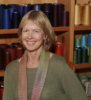The unofficial Queen of Doubleweave will teach in January