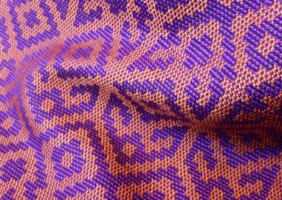 Lyles - Kilim Silk Scarf detail