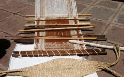 Anyone know how to warp a backstrap loom?